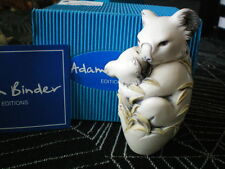 Adam Binder Editions Up a Gum Tree Koala Bears Black Wash UK Made Box Figure NIB