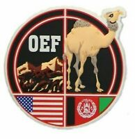 AFGHANISTAN OEF OPERATION ENDURING FREEDOM  APACHE HELICOPTER  FRIDGE MAGNET