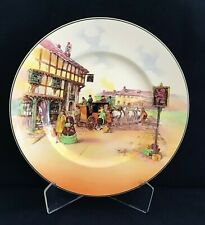 Royal Doulton Series ware Rack Plate Old English Coaching Scene D6393 1931-1951