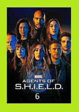 New & Sealed Agents of S.H.I.E.L.D. SHIELD Season 6 SIX (DVD,3-Disc)