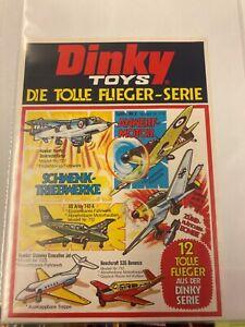 Micky Maus 1973:   Werbebeilage für Dinky Toys zu Heft 15 /  1973 lose Beilage