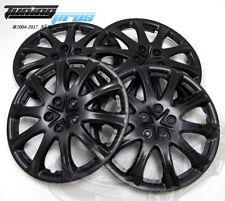 "Hubcap 15"" Inch Wheel Rim Skin Cover 4pcs Set Matte Black -Style 503 15 Inches-"