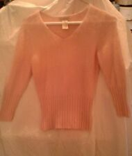 Apostrophe Womens Pink Sweater Size XS Petite (4)