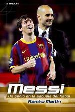 Messi: Un genio en la escuela del fútbol (Stadium) (Spanish Edition)-ExLibrary