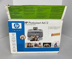 HP Photosmart A612 Mobile Compact Inkjet Printer New Open Box
