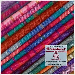 Harris Tweed Fabric Choose Your Tweed/Size LAMPSHADE KIT SIZES also available
