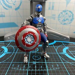 """Marvel Legends Shang-Chi CIVIL WARRIOR CAPTAIN AMERICA 6"""" Figure Mr. Hyde BAF"""