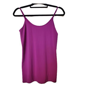 Jockey Women's Tops Modern Tactel Camisole 2051 (Red-Violet) Large NWT