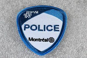 Original Montreal SPVM Police Patch