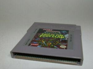 Teenage Mutant Ninja Turtles: Fall of the Foot Clan (Nintendo Game Boy) GameBoy