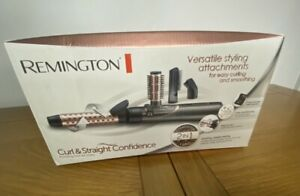 Remington Curl and Straight Confidence Hot Air Styler Brand New In Box