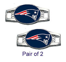 New England Patriots Shoe Charms / Paracord Charms