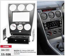 CARAV 11-106 Car Stereo Radio Fascia Plate Panel Frame Kit For MAZDA (6), Atenza