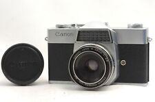 @ Ship in 24 Hours! @ Rare Model! @ Canon Canonex 35mm SLR Camera 48mm f2.8
