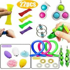 22stk Fidget Toys Sensory Toy Autismus Angst Stressabbau Spielzeug Set Kinder DE