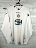 Leeds United Jersey 2004 2005 Long Sleeve XL Shirt Footballl Soccer Diadora