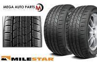 2 Milestar MS932 Sport 235/40R18 95V XL All-Season Traction M+S Performance Tire