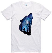 Howling Wolf T Shirt Unisex Nature Design Gildan Tee