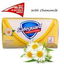 Safeguard Camomile Chamomile Hand Bar Soap Soft Care Germ Protection 90 g New