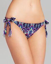 NEW BECCA Rebecca Virtue Swimwear Synergy Tie Bikini Bottom XS XSmall Multicolor
