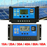 10-60A 30A Solar Panel Charger Battery Controller 12/24V Auto LCD PWM Regulator