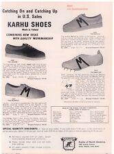 "1969 Karhu ""Finnish Running"" Shoe Collection Print Advertisement"