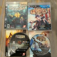 Lot of 2 PS3 Video Games - Bioshock & Infinite CIB Complete 2K Playstation 3