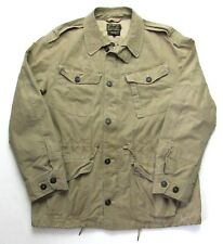 POLO RALPH LAUREN Military Field Jacket ~ L ~ coat Work Wear rrl M-65 army Chore