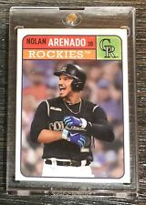 2019 Topps Brooklyn Collection Nolan Arenado Base Set Card # 37 RARE!!!!!
