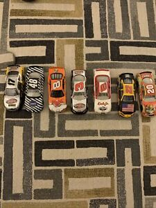 Lot Of 7  NASCAR Diecast Cars Size 1/64
