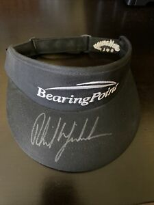 Phil Mickelson Signed Autographed Bearing Point Visor