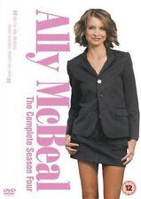 ALLY MCBEAL COMPLETE SERIES 4 DVD Fourth Season Calista Flockhart UK Rele New R2