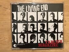 THE LIVING END - Tabloid Magazine CD Australian Rock Pre-Owned Excellent VG++