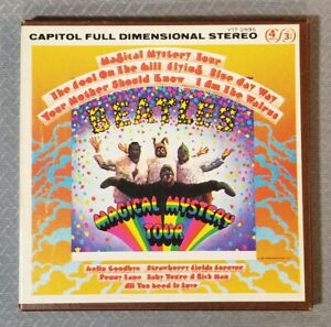 Magical Mystery Tour - The Beatles Reel To Reel Tape - 4 track - 3 3/4 IPS