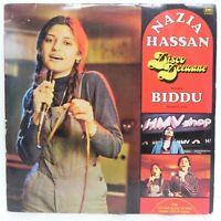 Disco Deewane Nazia Hassan Biddu LP Record Rare Vinyl 1981 Bollywood Indian EX