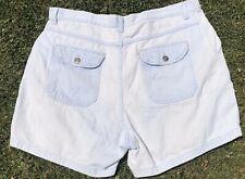 Plus Sz17 Vintage Wrangler Lt Bleached Denim High Waisted Mom Jean Shorts