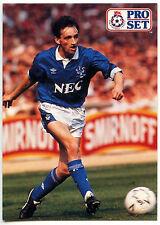 Pat Nevin Everton #264 Pro Set Football 1991-2 Trade Card (C364)