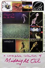 Midnight Oil 1990 Complete Collection Original Promo Poster