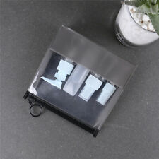 Transparent Travel Bag Airport Cosmetic Makeup Toiletry Clear Wash Pouch J