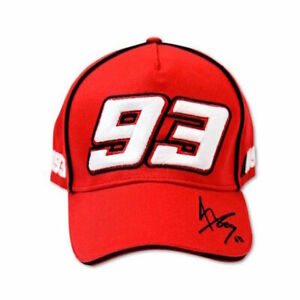 Official Marc Marquez 93 Red Cap - MMMCA 598 07