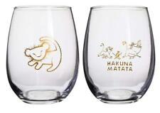 Disney The Lion King 2019 Official Wine Glass Set Stemless Collectible Gift Pack
