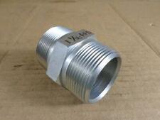 "Parker 1-1/2"" FF-S Industrial Pipe Nipple"