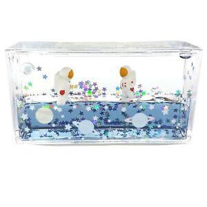 Astronaut Liquid Motion Mini Aquarium Visual Fidget Toy For Kids