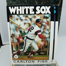 THE NICKEL STORE: TOPPS MLB TRADING CARD: CHICAGO WHITE SOX CARLTON FISK (F5)