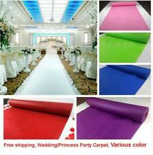Party Carpet Wedding Aisle Rugs Runner Home Decoration Fabric None Woven Carpets