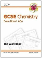 GCSE Chemistry AQA Workbook incl Answers - Higher (A*-G course)-Cgp Books