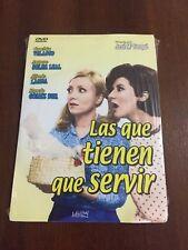 LAS QUE TIENEN QUE SERVIR 1 DVD SLIMCASE CARTON + EXTRAS 83 MIN NEW SEALED NUEVO