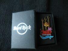 Hard Rock Cafe Hong Kong 3rd Anniversary Guitar pin with box. Free Shipping!!!