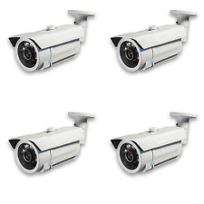 4pcs CCTV 850TVL TK8239 IR Bullet Outdoor Camera D/N 3.6mm Lens 6 Leds Range 30m