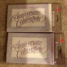 16 ANNIVERSARY CELEBRATION INVITATIONS WITH ENVELOPES